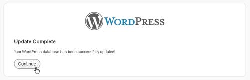 Updating Wordpress